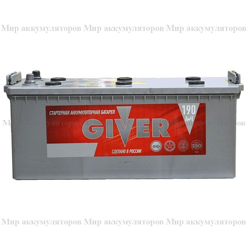 GIVER  6СТ-190 п.п.